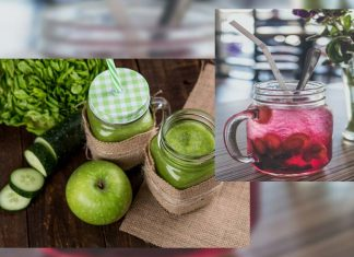 What is a good detox diet (liquid) for cleansing skin and removing toxins from the body?
