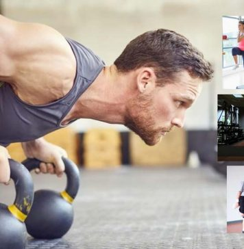 Workout routine for a healthy lifestyle