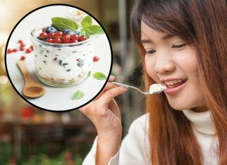 Benefits of yogurt for female health and mind
