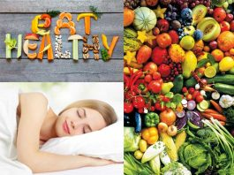 Eat Healthy, Sleep Peacefully
