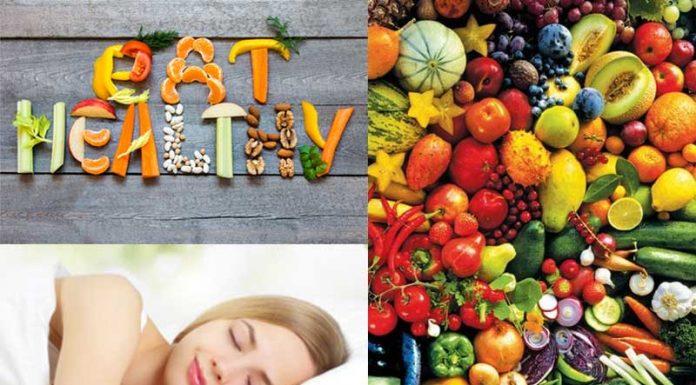 Eat Healthy, Sleep Peacefully